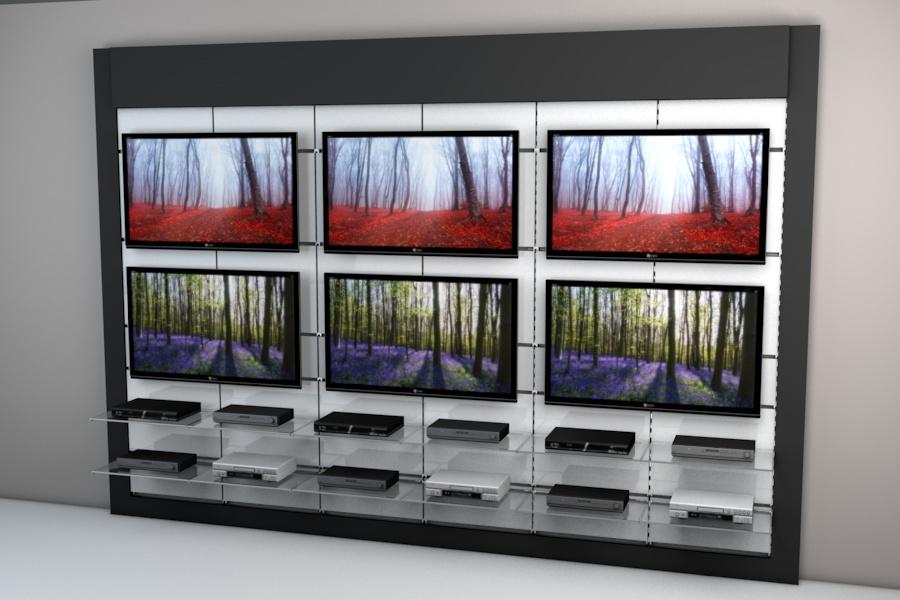 3D Retail Display Visualisation
